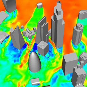 Hi-Res CFD for Wind Loading of Tall Buildings