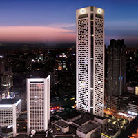 Asia Pacific Tower & Jinling Hotel