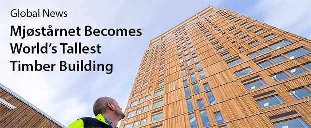 "CTBUH Ratifies ""World's Tallest Timber Building"" Following Height"