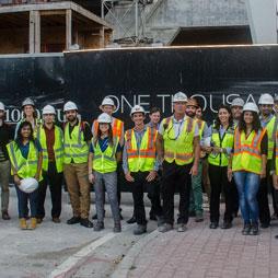 CTBUH Florida Hosts Construction Tour of One Thousand Museum