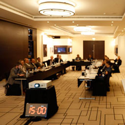 Height & Data Committee Meets at 2018 Middle East Conference