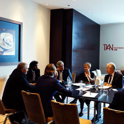 Fire Performance of Façades Working Group Meets During Conference