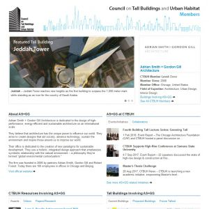 Adrian Smith + Gordon Gill Architecture Member Page