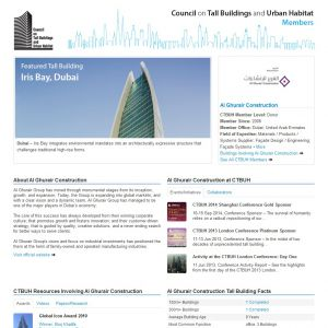 Al Ghurair Construction Member Page