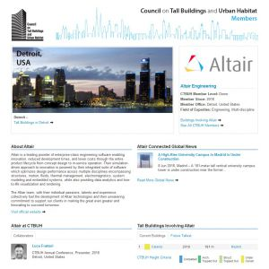 Altair Engineering Member Page