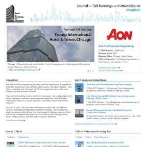 Aon Fire Protection Engineering Member Page