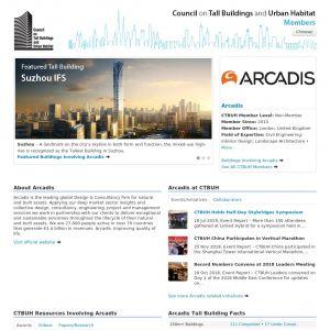 Arcadis Member Page