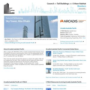 Arcadis Australia Pacific Member Page