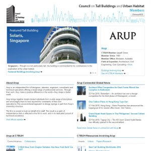 Arup Member Page