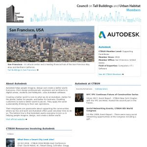 Autodesk Member Page