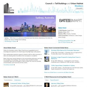 Bates Smart Member Page