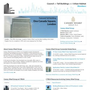 Canary Wharf Group Member Page
