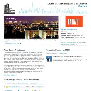 Carazo Architecture Member Page