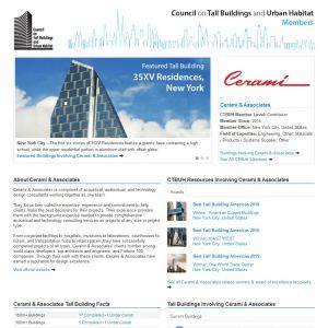 Cerami & Associates, Inc. Member Page