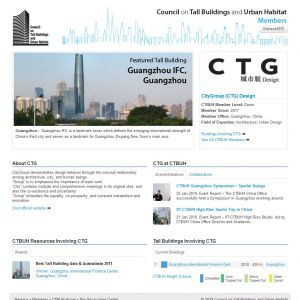 CityGroup (CTG) Design Member Page