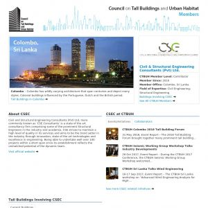 Civil & Structural Engineering Consultants (Pvt) Ltd. Member Page