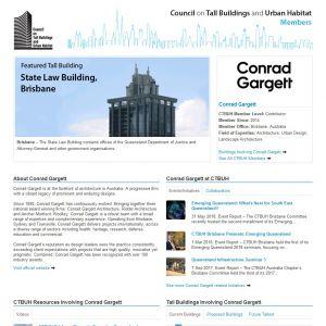Conrad Gargett Member Page