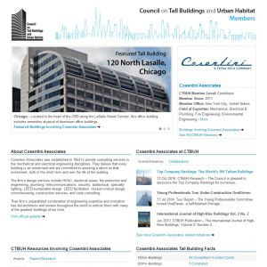 Cosentini Associates Member Page