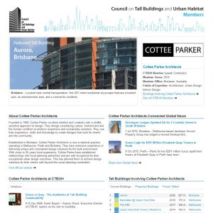 Cottee Parker Architects Member Page