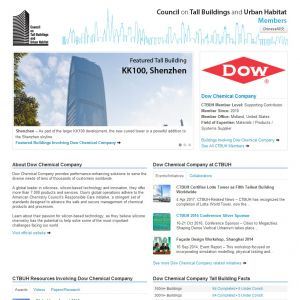 Dow Chemical Company Member Page
