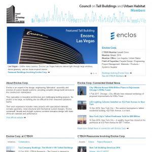 Enclos Corp. Member Page