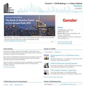 Gensler Member Page
