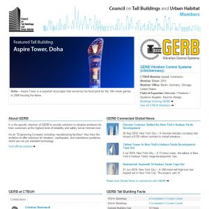 GERB Vibration Control Systems (USA/Germany) Member Page
