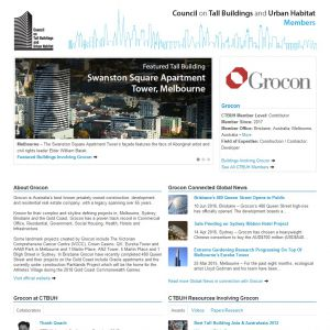 Grocon Member Page