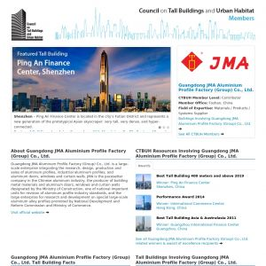 Guangdong JMA Aluminium Profile Factory (Group) Co., Ltd. Member Page