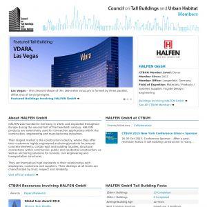 HALFEN GmbH Member Page