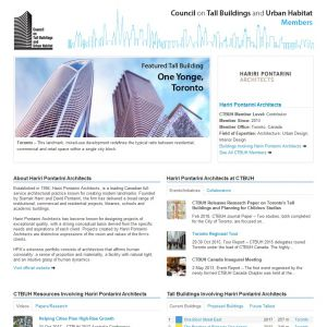 Hariri Pontarini Architects Member Page