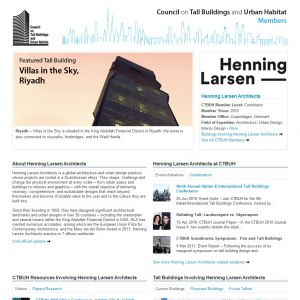Henning Larsen Architects Member Page
