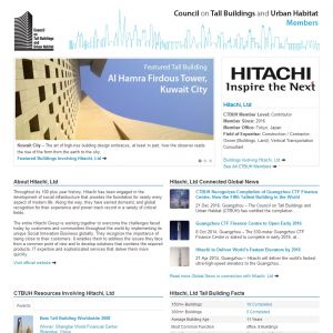 Hitachi, Ltd. Member Page