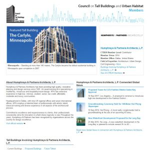 Humphreys & Partners Architects, L.P. Member Page