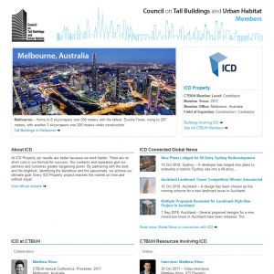ICD Property Member Page