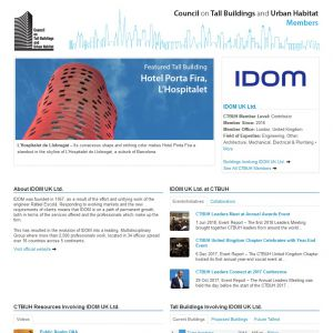 IDOM Member Page