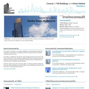 Irwinconsult Pty. Member Page