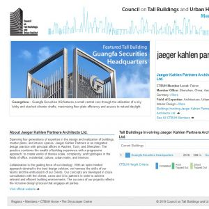 Jaeger Kahlen Partners Architects Ltd. Member Page