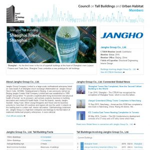 Jangho Group Co., Ltd. Member Page