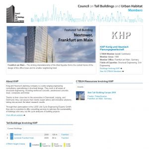 KHP Konig und Heunisch Planungsgesellschaft Member Page
