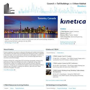 Kinetica Member Page