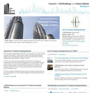 KLCC Property Holdings Berhad Member Page
