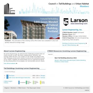 Larson Engineering, Inc. Member Page