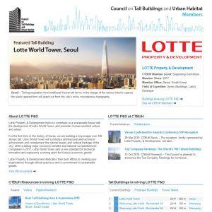LOTTE Property & Development Member Page