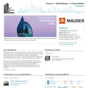 MAURER SE Member Page