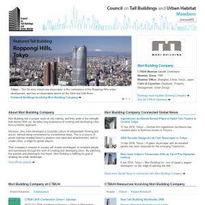 Mori Building Company Member Page
