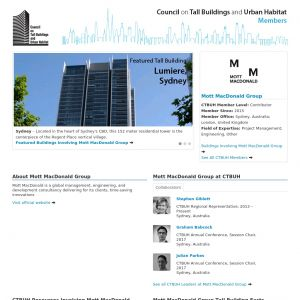 Mott MacDonald Group Member Page