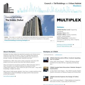 Multiplex Member Page
