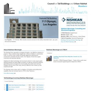Nishkian Menninger Consulting and Structural Engineers Member Page
