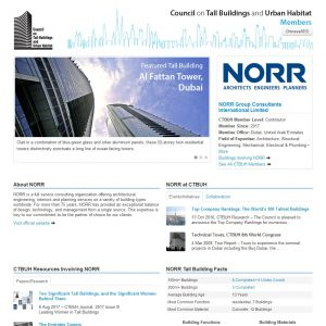 NORR Group Consultants International Limited Member Page